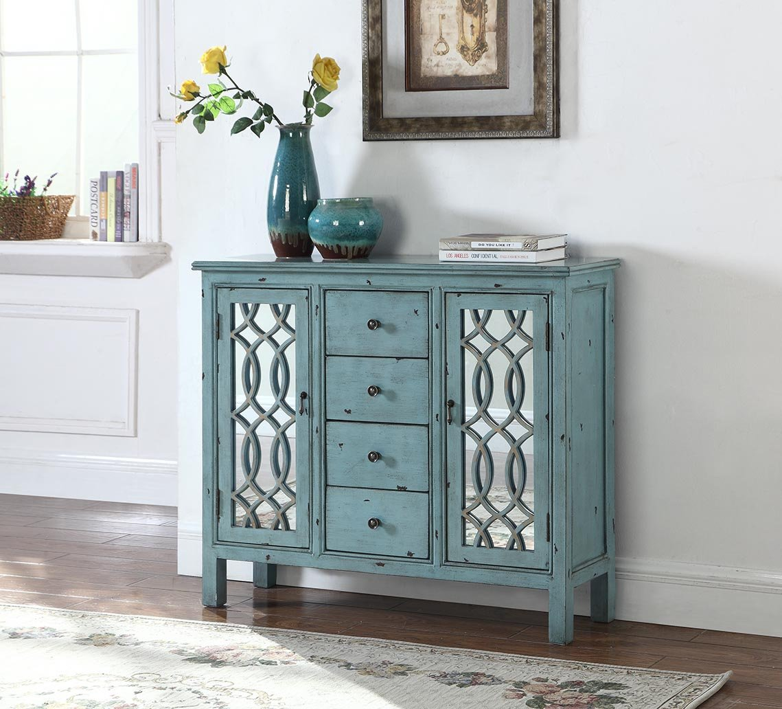 coaster accent cabinets antique blue table with inlay door design piece nesting set light mango wood furniture round rattan end outdoor patio sofa mirror modern console tables