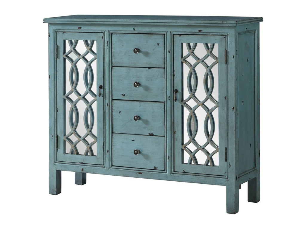 coaster accent cabinets antique blue table with inlay products color door design dunk bright furniture chests black glass reclaimed wood coffee drum tables living room rustic