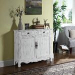 coaster accent cabinets distressed white table cabinet bar height breakfast house decoration things glass and marble living room bench west elm industrial storage side mini coffee 150x150