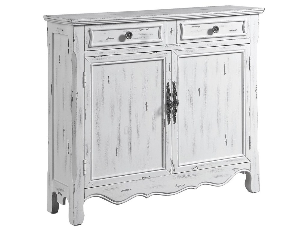 coaster accent cabinets distressed white table dunk products color bright furniture chests hampton bay patio round skirts decorator gray end wooden trestle beach themed room decor
