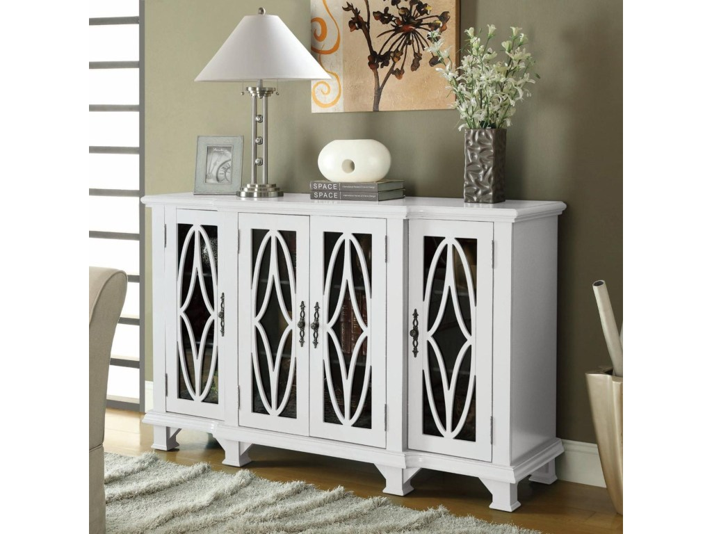 coaster accent cabinets large white cabinet with glass doors products color table chalk paint coffee mid century nesting tables cordless lamps mosaic top west elm elephant lamp