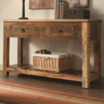 coaster accent cabinets rustic console table drawers products color sofa tables dunk bright furniture consoles target threshold chair round glass coffee navy end kitchen chairs 150x150