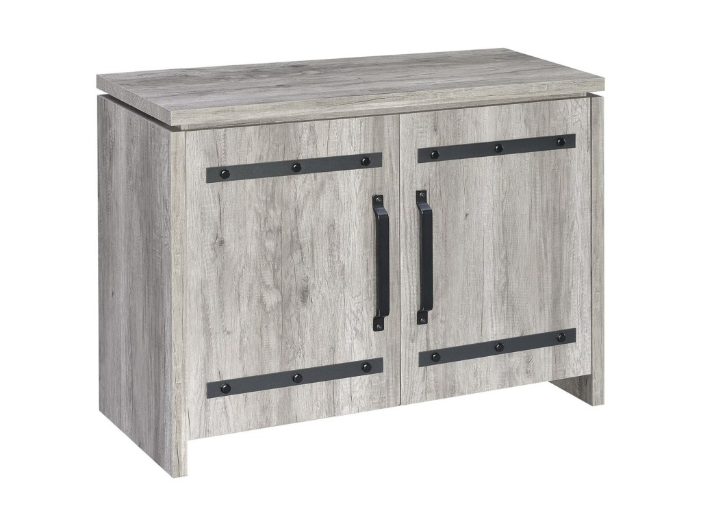 coaster accent cabinets rustic grey cabinet corner products color table cabinetsaccent bar ikea outdoor side beverage cooler chair white end target cement top dining custom hybrid