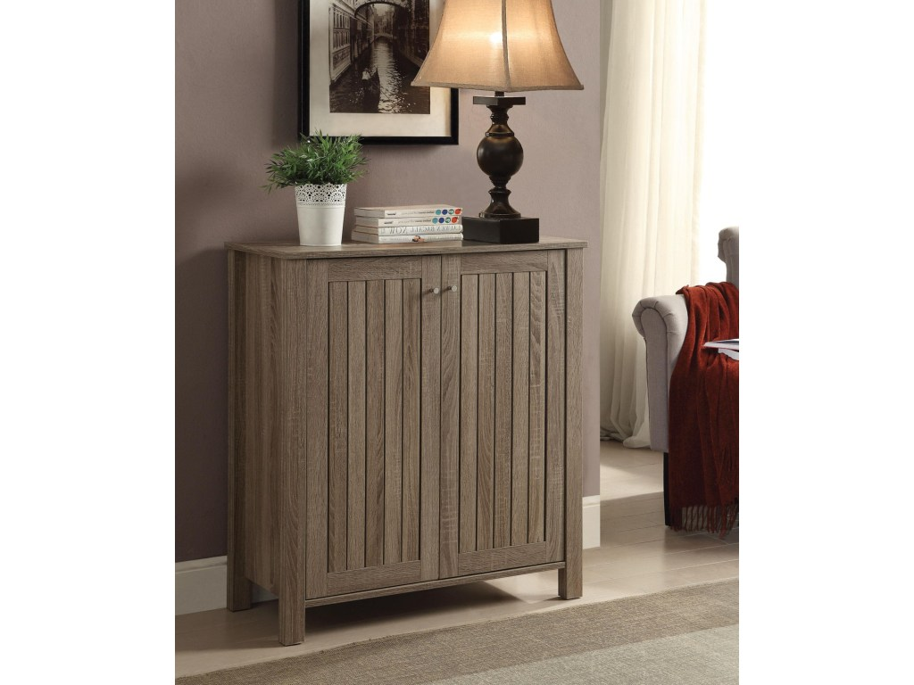 coaster accent cabinets weathered gray shoe cabinet products color table cabinetsshoe sheesham wood nest tables parquet target chaise lounge side small drink adjustable legs