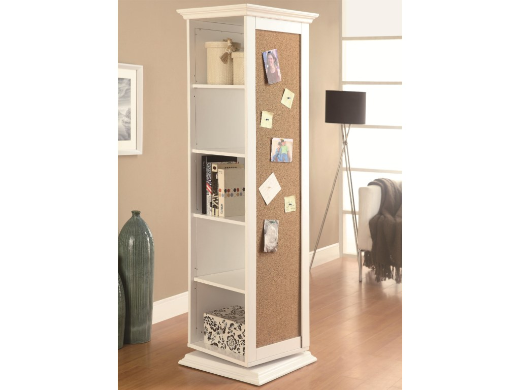 coaster accent cabinets white swivel storage cabinet with products color furniture cork board dunk bright chests large grey wall clock marble bar table lamps and shades ashley