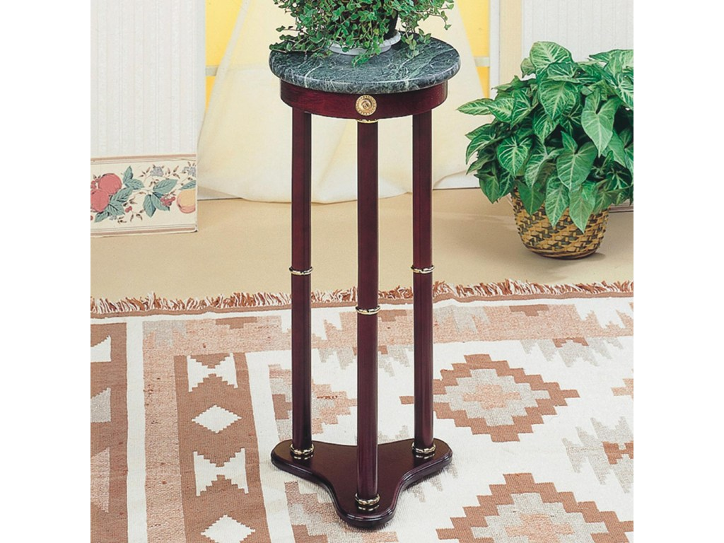 coaster accent stands green marble top round plant stand value products color table standsround timberline furniture chest cupboard outdoor storage cabinets with doors starfish