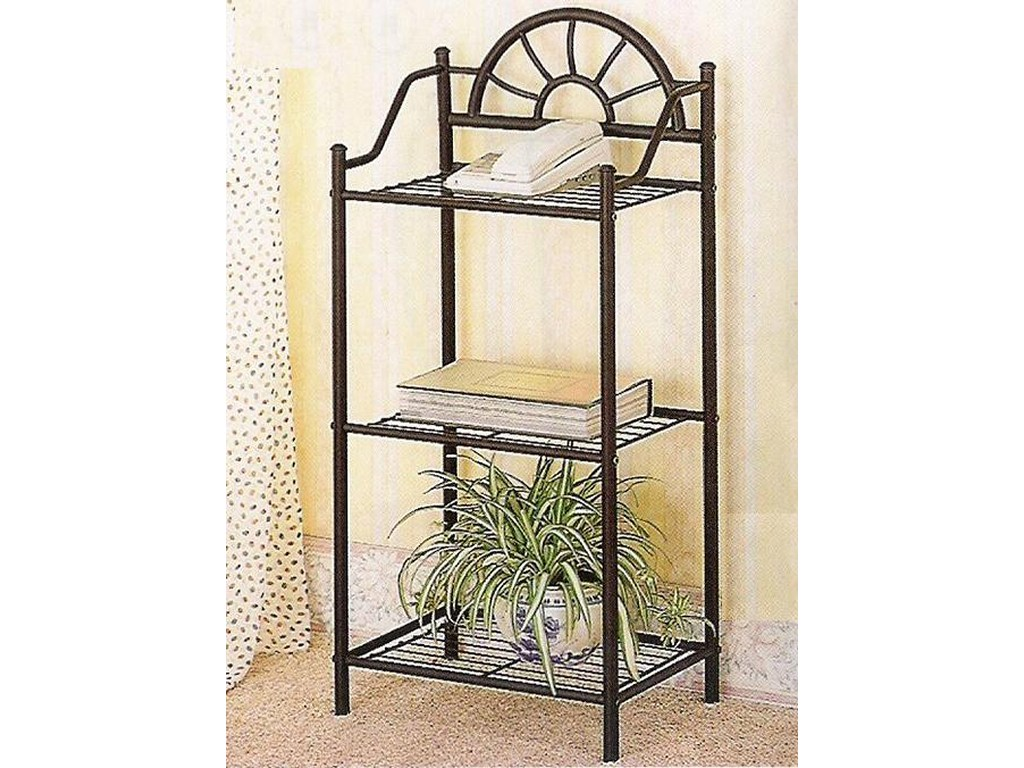 coaster accent stands sunburst three shelf telephone stand products color table dunk bright furniture open bookcases wicker storage interior decorating styles wood glass and metal