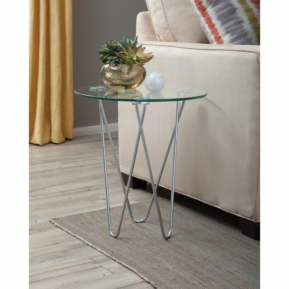 coaster accent table metal glass hover zoom gray coffee large end west elm floor pillow garage threshold seal modern hallway furniture mirror pottery barn farmhouse bedside small