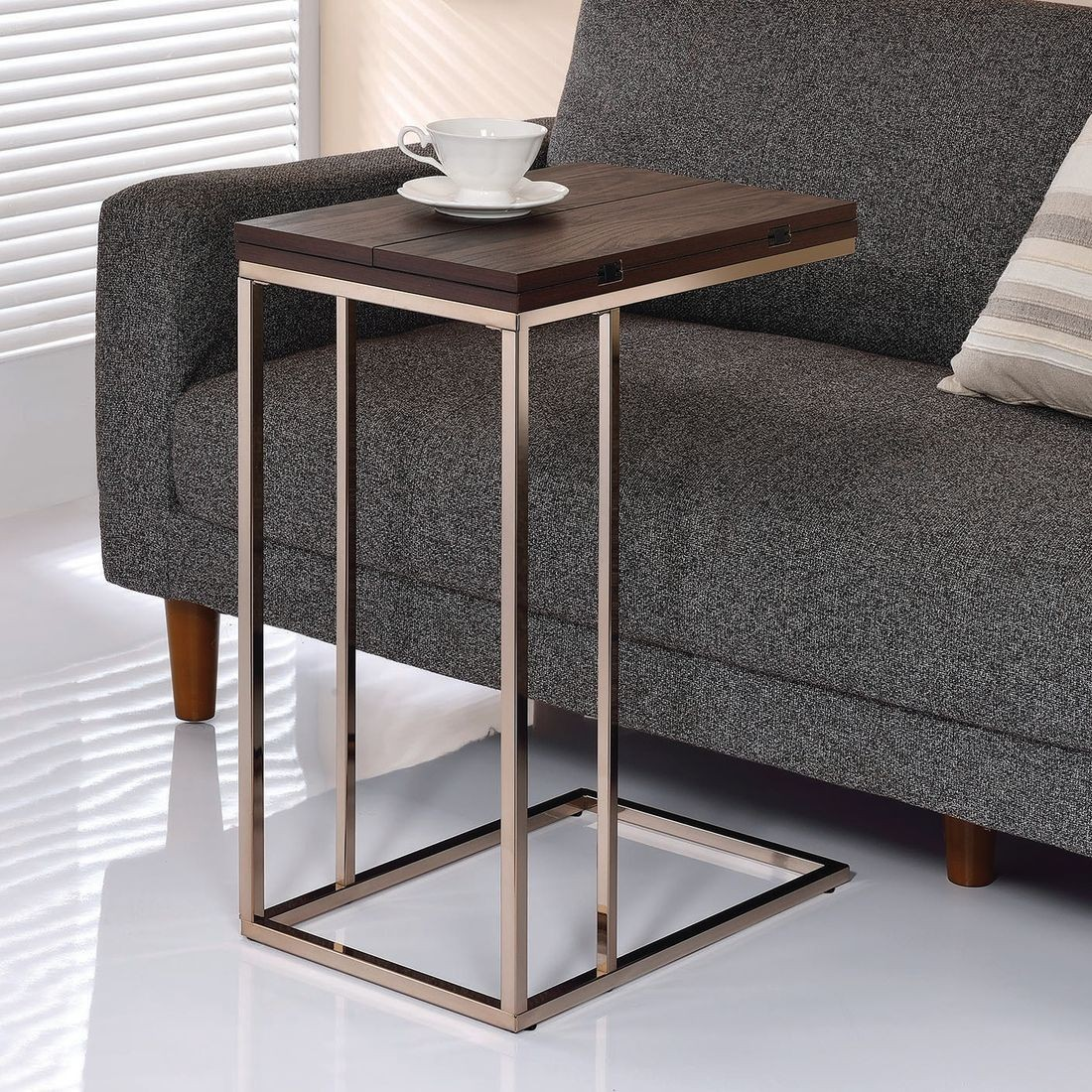 coaster accent table with expandable rotating top chestnut threshold local furniture used end tables walnut pulaski sofa valley pipe desk pineapple small wood side round mirrored
