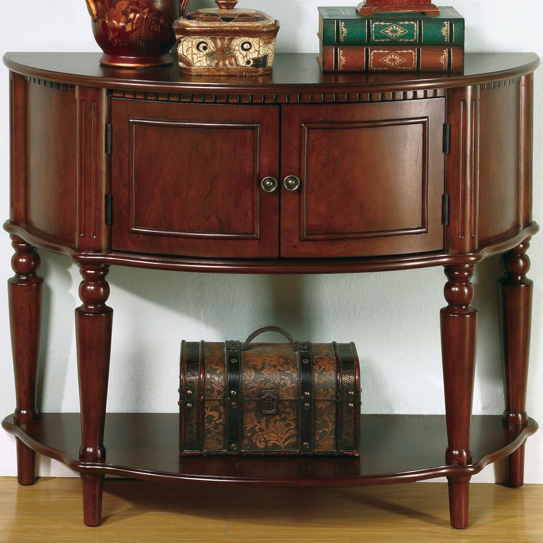 coaster accent tables brown entry table with curved front inlay products color coas antique vanity furniture dining set corner wine rack dog grooming black piece living room west