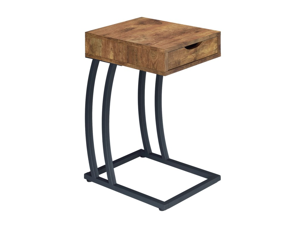 coaster accent tables chairside table with storage drawer and products color coas metal drawers tablesaccent art desk ikea butler end home goods coffee large outdoor wall clock