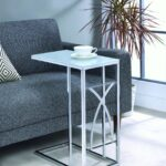 coaster accent tables contemporary snack table with glass top pier one furniture coupons target dressing pub solid wood farmhouse dining black mirrored bedside cherry nightstand 150x150