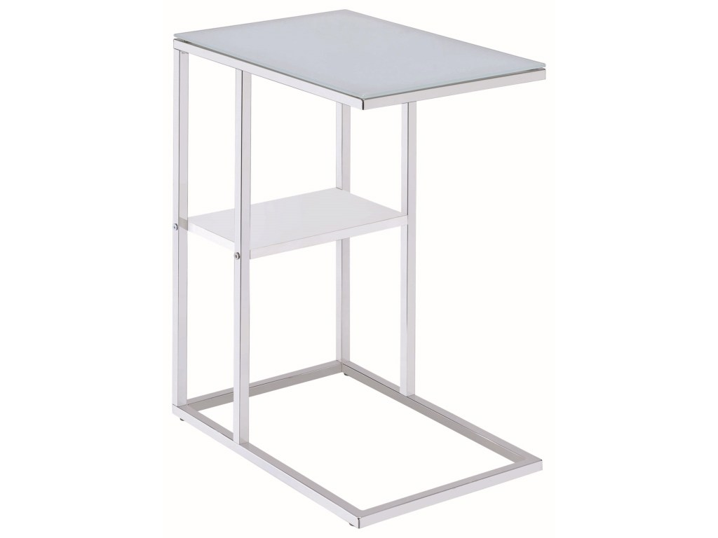 coaster accent tables contemporary snack table with glass top products color coas square tablessnack used west elm dorm sets rattan furniture mirror side ikea lack coffee raw and
