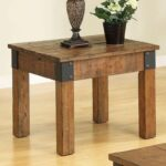 coaster accent tables distressed country wagon end table prime products color coas tablesend wooden lamp marble top entryway mirror sofa center small circular tablecloths rustic 150x150