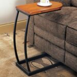 coaster accent tables distressed oak snack table with black products color coas metal base dunk bright furniture end garage threshold seal asian style solid wood coffee laminate 150x150