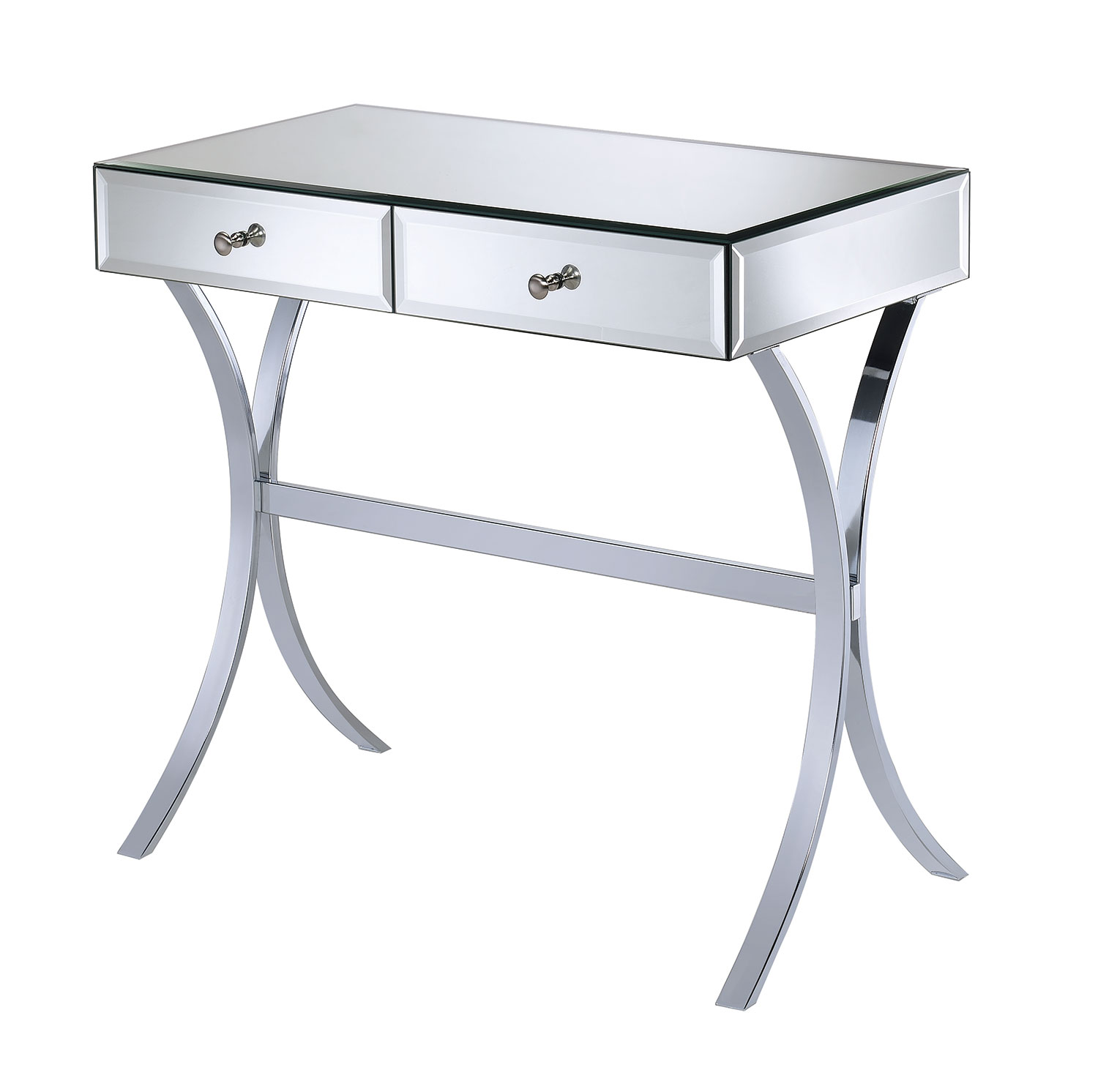 coaster accent tables mirror console table dunk bright products color coas metal target dining room french braid quilt pattern runner chairs from pier one imports replica retro