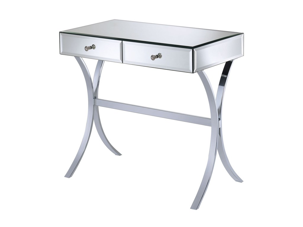 coaster accent tables mirror console table value city furniture products color coas sofa tablesconsole kitchen tablecloth modern coffee toronto antique white round next side glass