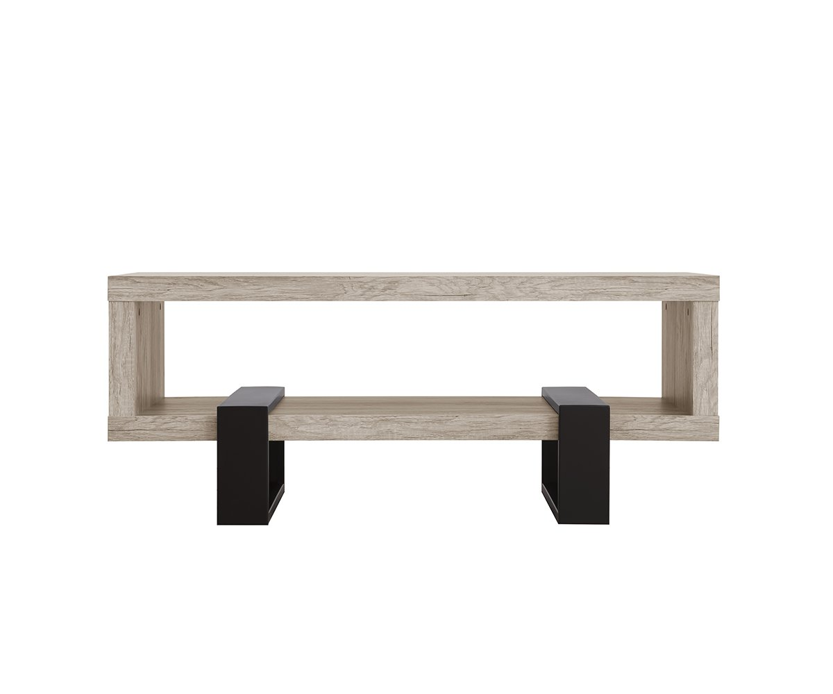 coaster accent tables modern open shelf coffee table with distressed trestle repurposed doors furniture glass stacking corner storage chest room essentials hairpin pottery barn