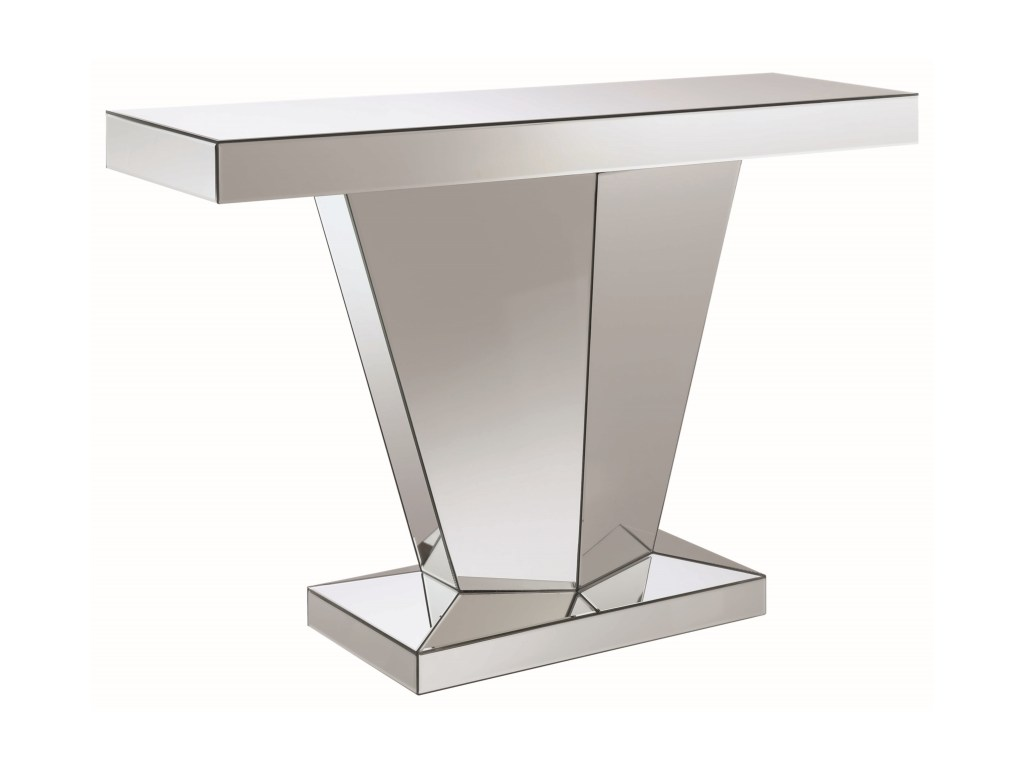 coaster accent tables pedestal contemporary console table value products color coas tablesconsole outside lawn chairs white marble gold coffee mosaic bistro and long runners