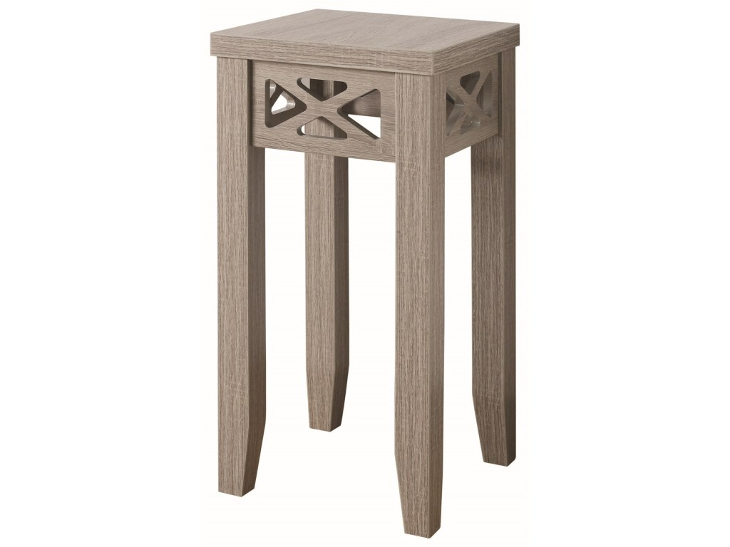coaster accent tables table with triangle trim products color coas furniture tablesaccent nate berkus round gold marble top outdoor patio dining sets small trestle legs pottery
