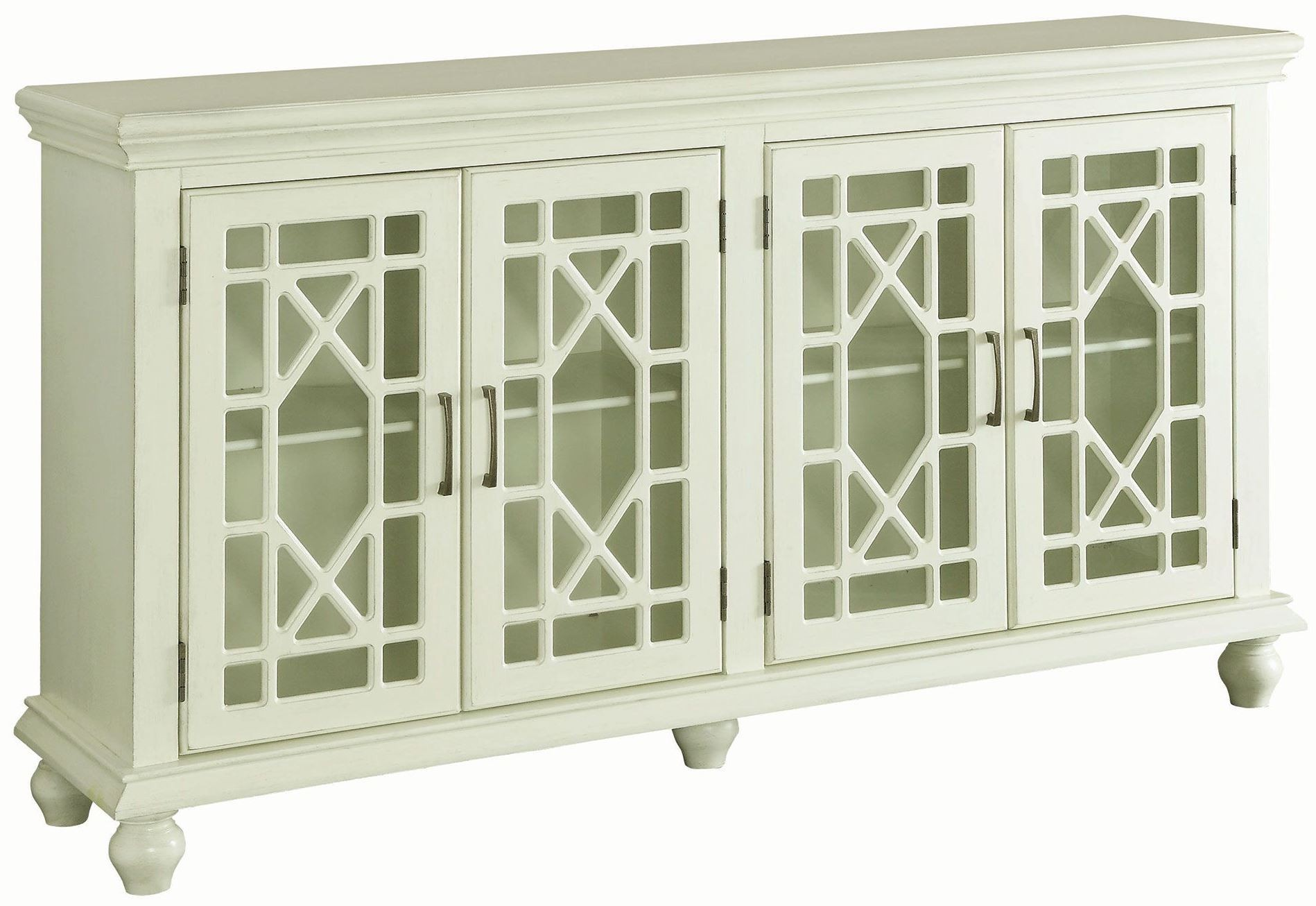 coaster antique white door accent cabinet collection table media gallery farm rustic lamps bar height patio glass bedside drawers touch end unfinished console small round wine