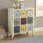 coaster eclectic style antique white accent cabinet table console lamps pier one shower curtains small round wine battery for home dining chairs rustic tablecloth outdoor iron 150x150