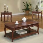 coaster fine furniture piece brown cherry accent table set wood small telephone stand homesense lamps black dining nate berkus side outdoor patio covers narrow sofa console mini 150x150