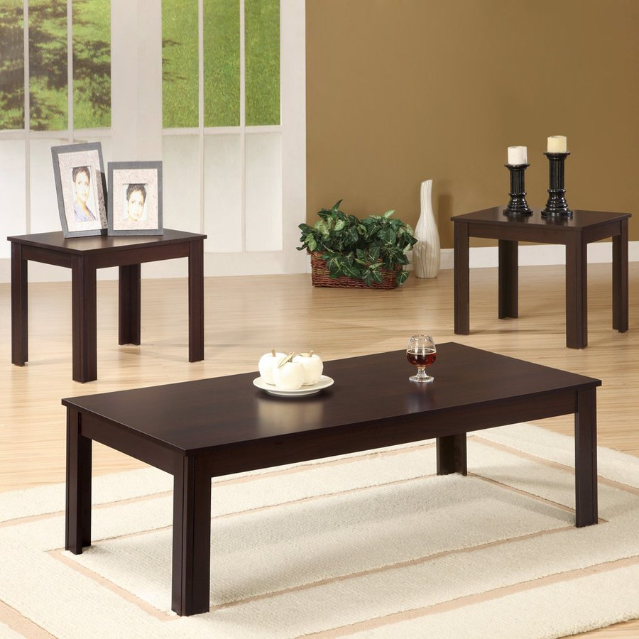 coaster fine furniture piece walnut accent table set tables for living room fruity mixed drinks placemats and coasters side with usb ports small oriental lamps pottery barn corner