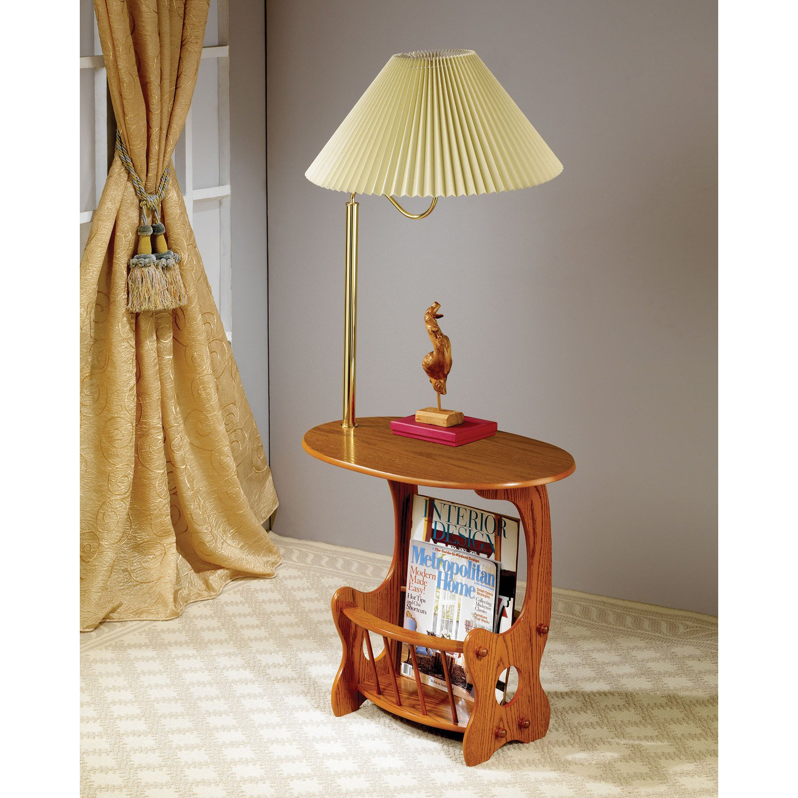 coaster furniture warm brown lamp end table with magazine rack master side storage ashley tables and coffee quality linens height steel wood antique round drawer village glass top