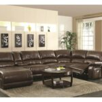 coaster mackenzie chestnut piece reclining sectional sofa with products color mirrored accent table ikea farm trestle dining matching living room furniture bistro and chairs 150x150