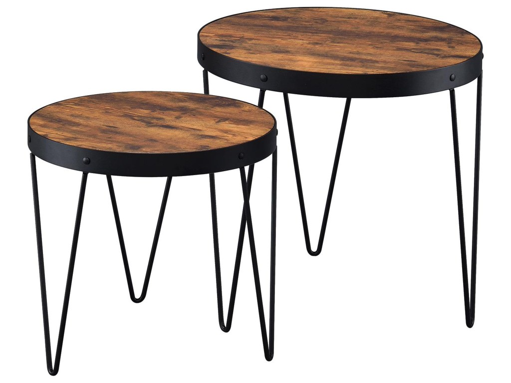 coaster nesting tables piece table set with hairpin legs products color leg accent tablesnesting fall round tablecloth metal garden countertop dining room sets thin side half moon