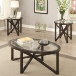 coaster occasional table sets piece accent set with products color groups tempered glass top dunk bright furniture ethan allen reviews affordable linens sofa and chair narrow 150x150