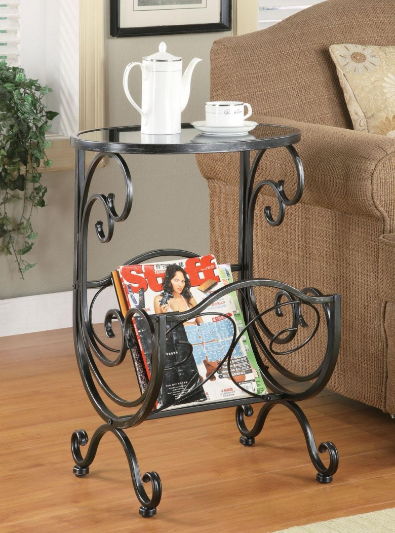 coaster silver gun metal accent table collection tall small round valley city furniture coffee with drawers ikea black modern side pool umbrella stand teak outdoor end laminate