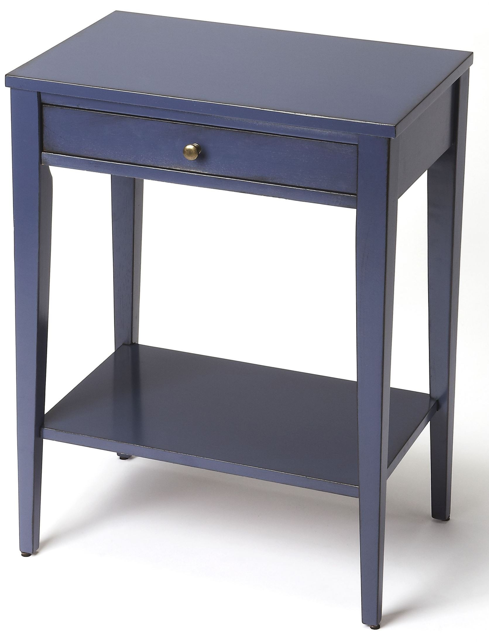 cobble hill navy blue console end table butler red accent white pedestal fine furniture edmonton bedroom porcelain lamp west elm industrial coffee tables for small spaces outdoor