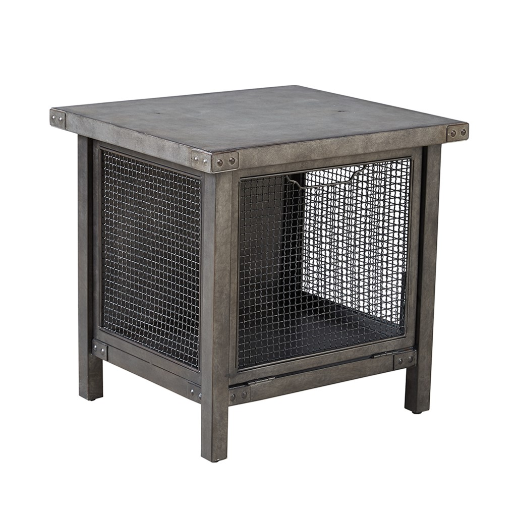 cody storage end table grey abode and company wire basket accent small round marble coffee high patio plastic furniture with power strip cocktail tables mid century modern dining