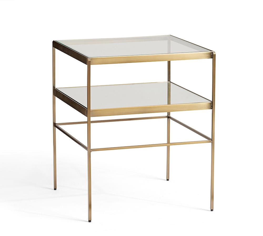 coffee accent tables pottery barn media jamie table leona cube ikea slim bedside silver metal pier ornaments aluminum ethan allen end with drawer wood pedestal affordable living