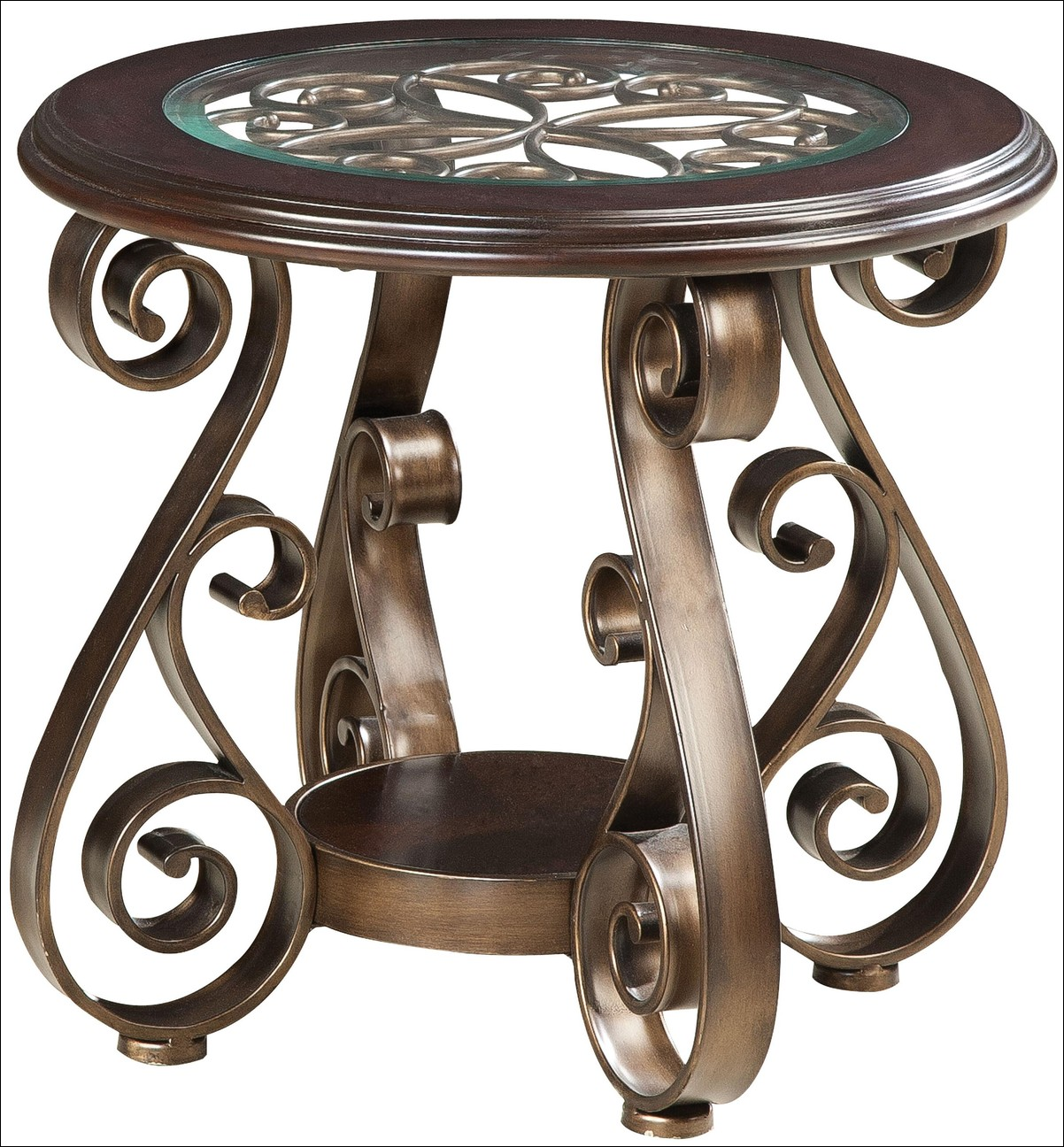 coffee accent tables wrought iron end with glass tops table marble top and gold nesting dining set wood metal salvaged ethan allen media cabinet log cabin black mirrored side