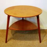 coffee pallet the perfect teak wood end table tures mid century modern round shelf circa sold slim shoe storage shower door replacement side with space ikea hack lack distressed 150x150