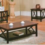 coffee table and end tables set best the world black ideas dark wood sets creative coaster casual piece occasional living three pottery barn comforters pink lamp short console 150x150