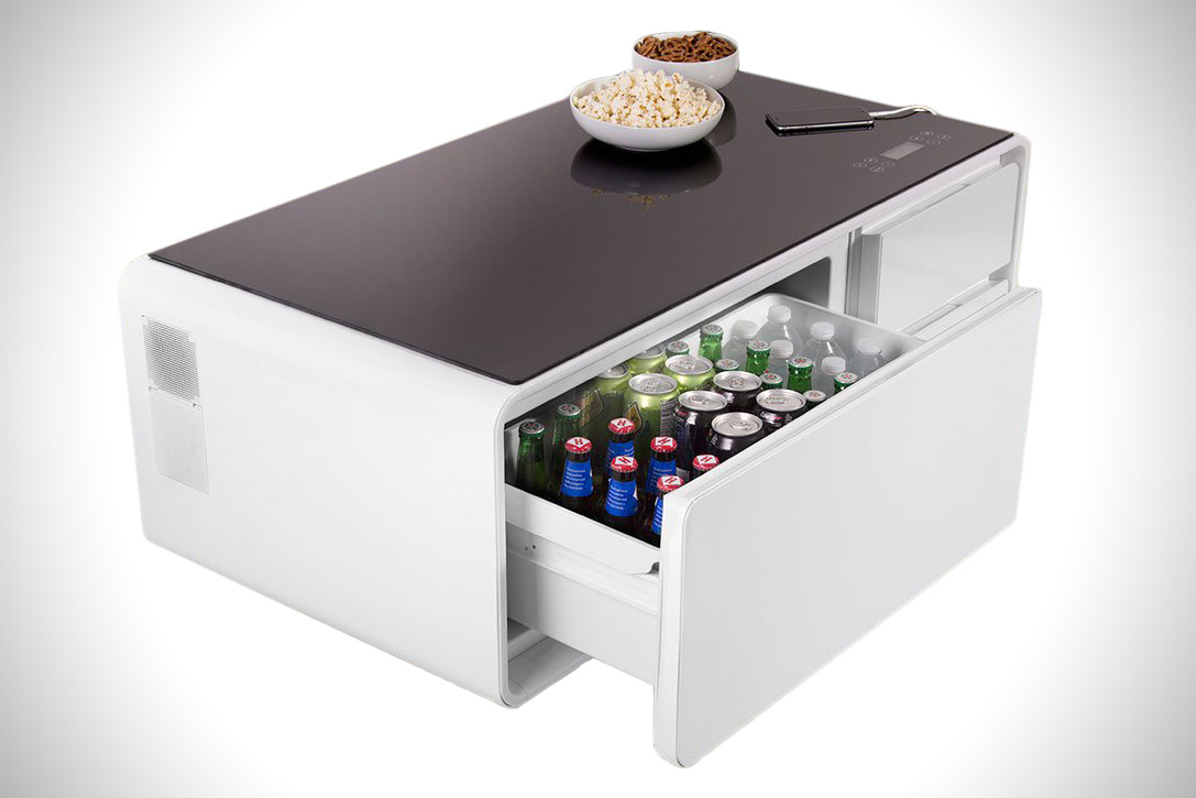 coffee table cooler combo sobro end refrigerator hiconsumption accent side tables round big lots outdoor metal with storage wrought iron and glass patio dining furniture chairs