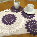 coffee table crochet purple doily set pcs small round mats full floor themed placemats matson and end doilies accent chairs for living room clearance white corner nightstand 150x150