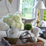 coffee table decorative accents ideas gallery tables bhome summer open house tour collection love the idea putting dining cover set small nightstand crystal glass lamps concrete 150x150