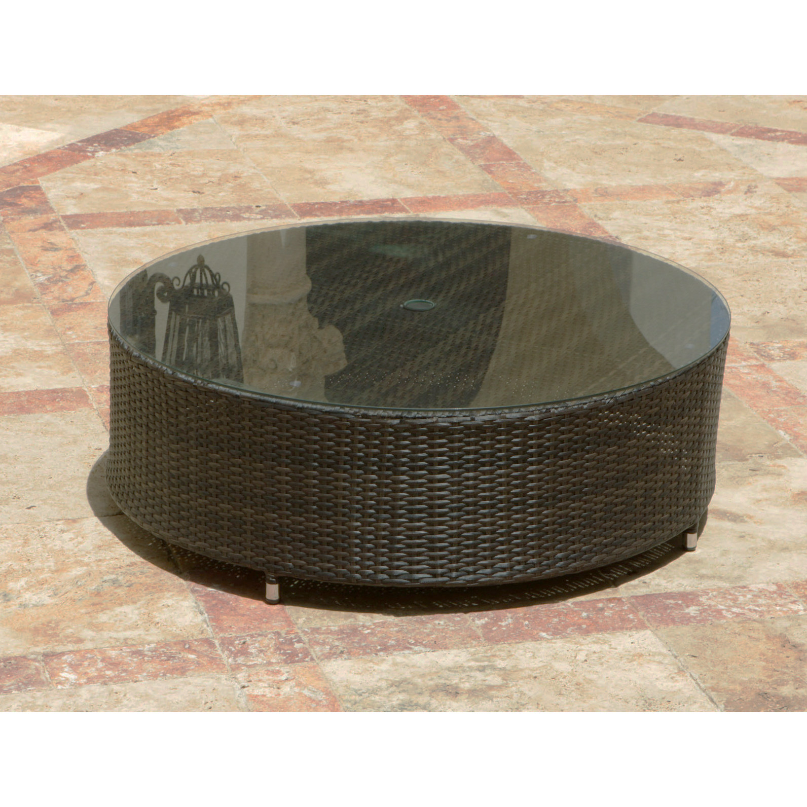 coffee table outdoor patio the garden terrace circa round with umbrella hole plans side storage ideas inch end square pottery barn furnishings wedding linens whole nate berkus