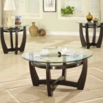 coffee table piece sets under stunning blackish brown round rustic glass and wood laminated ideas clearance accent tables tiffany leadlight lamps pier one rugs jcpenney floor 150x150