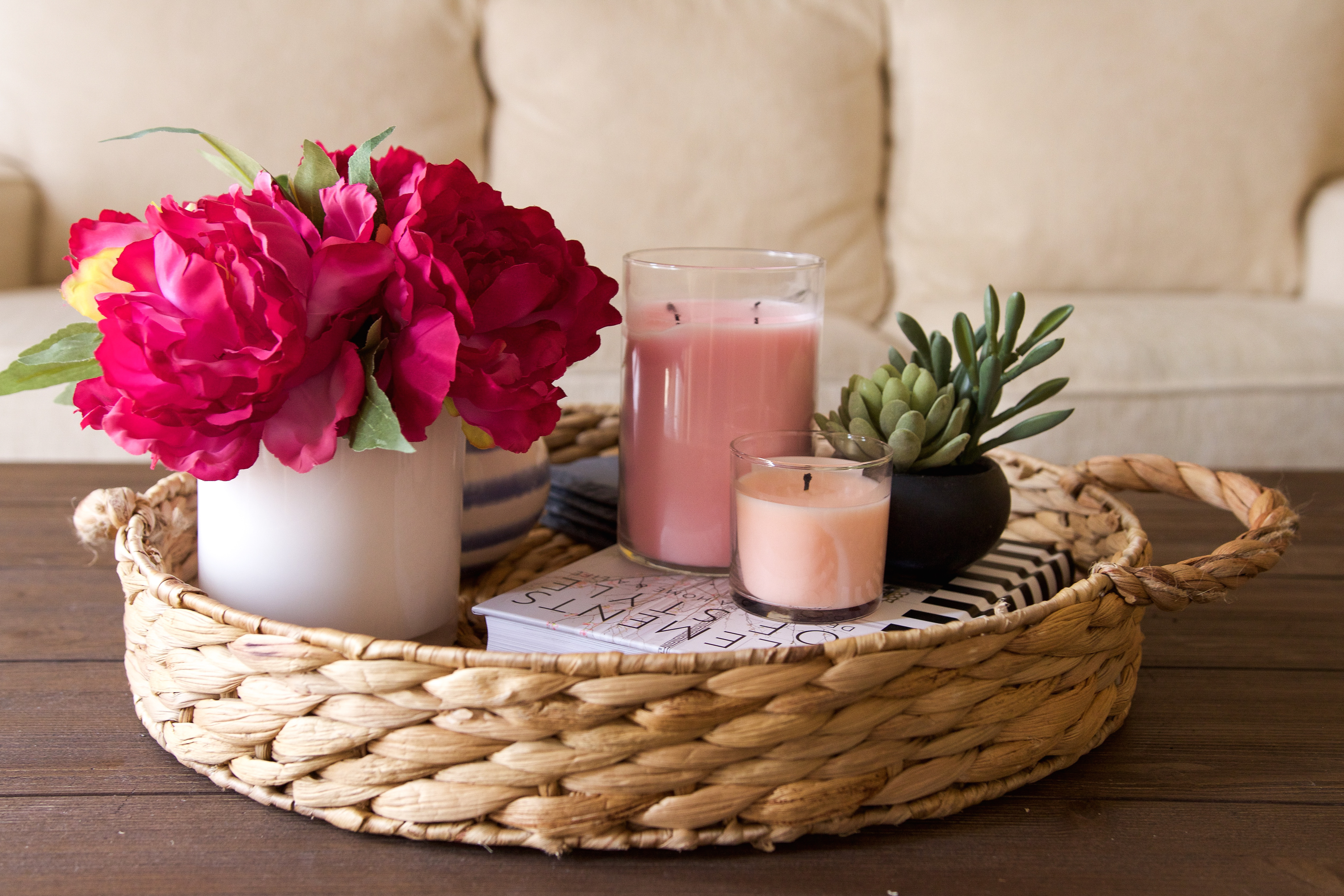 coffee table styling decor ideas michelle got married accents home fruit drinks recipes sitting chairs for living room accent chair and set dining large rectangular wall clock