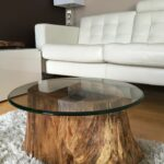 coffee tables furniture modern rustic log wood accent table home goods website farm dining set for entryway tan leather chair circle compact office desk console with drawers fire 150x150