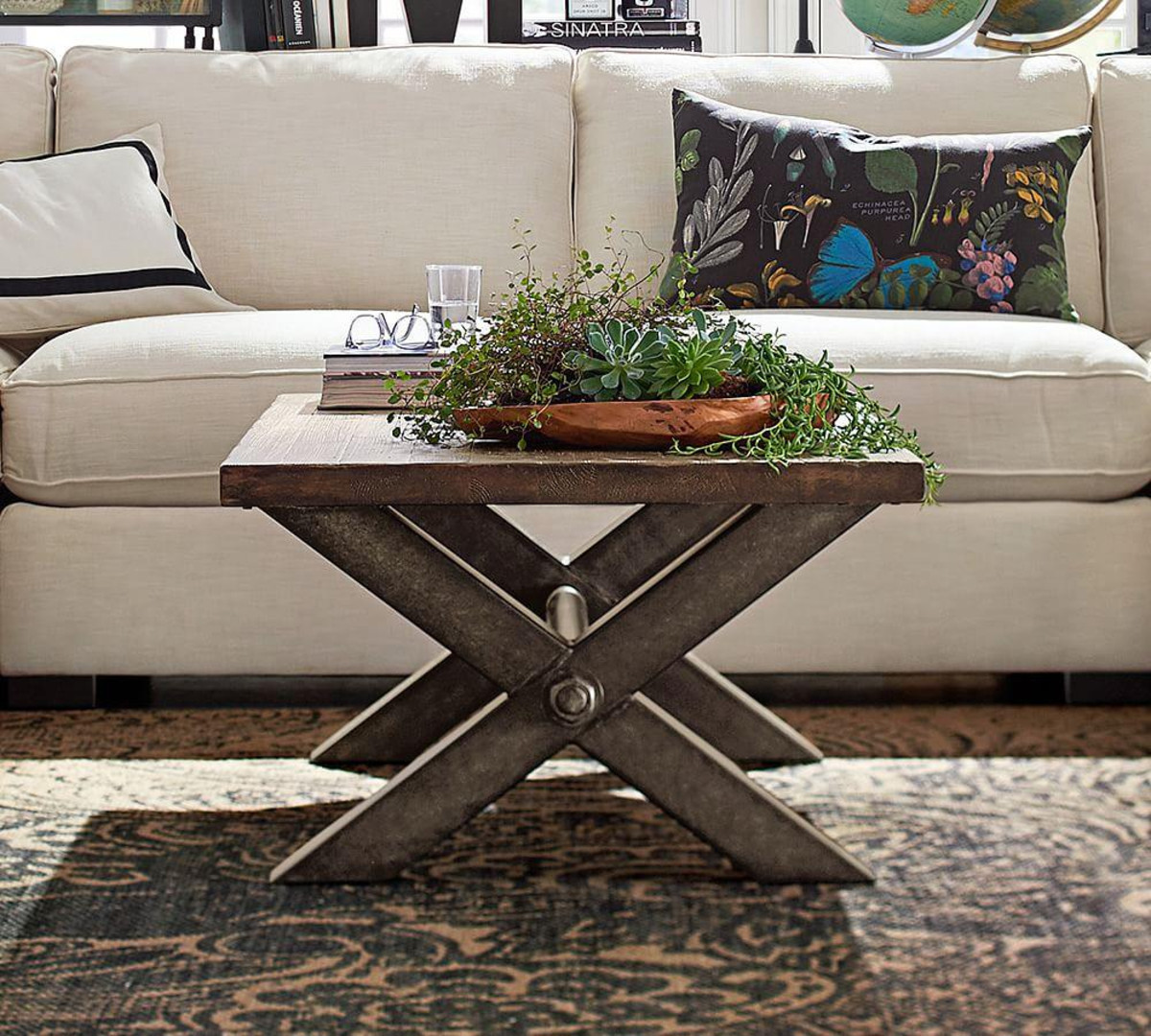 coffee tables ideas winsome nolan table many style sample great themes console wooden brown sofa white pillow pottery barn flower accent large grey wall clock college dorm room
