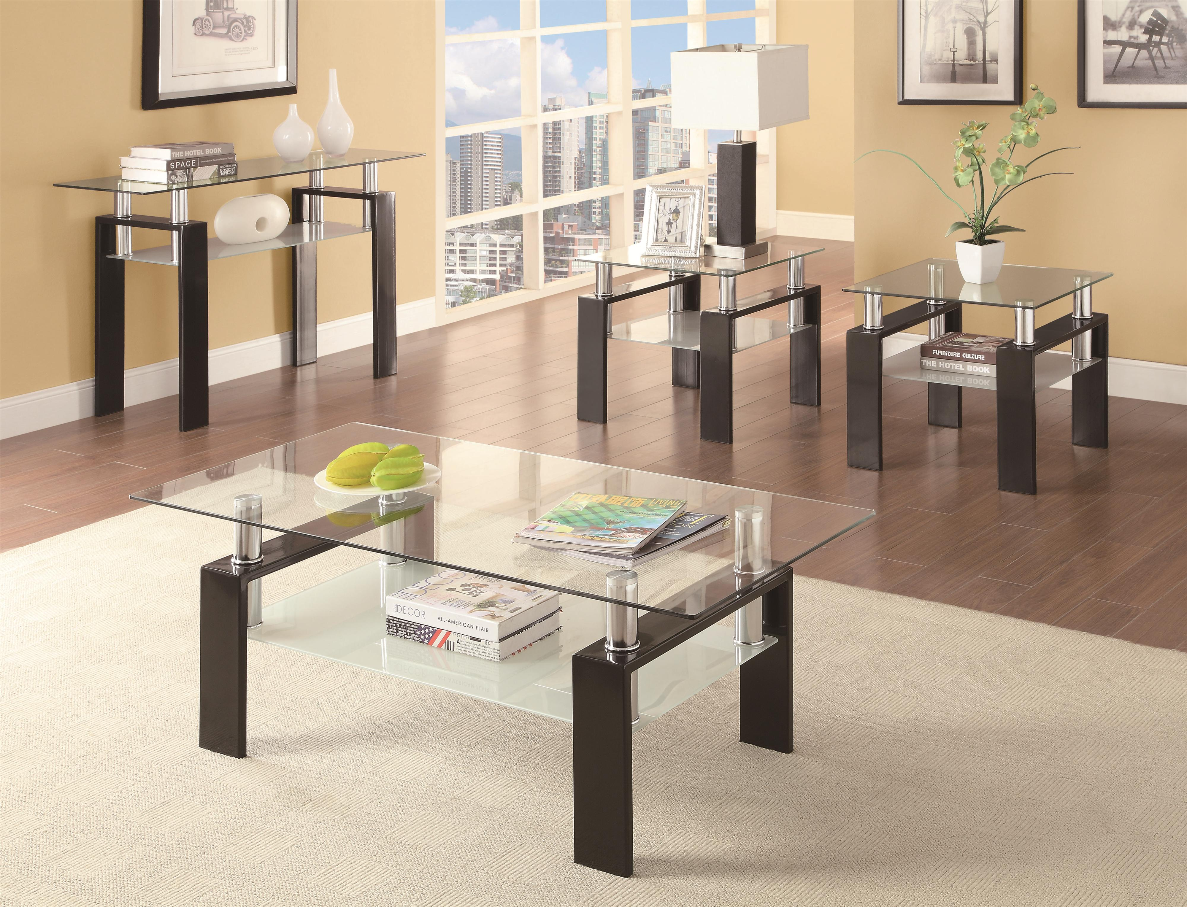 coffee tables stylish and contemporary occasional table set black glass end marble top bistro side metal hairpin furniture legs rustic designs breakfast ideas white bookcase real