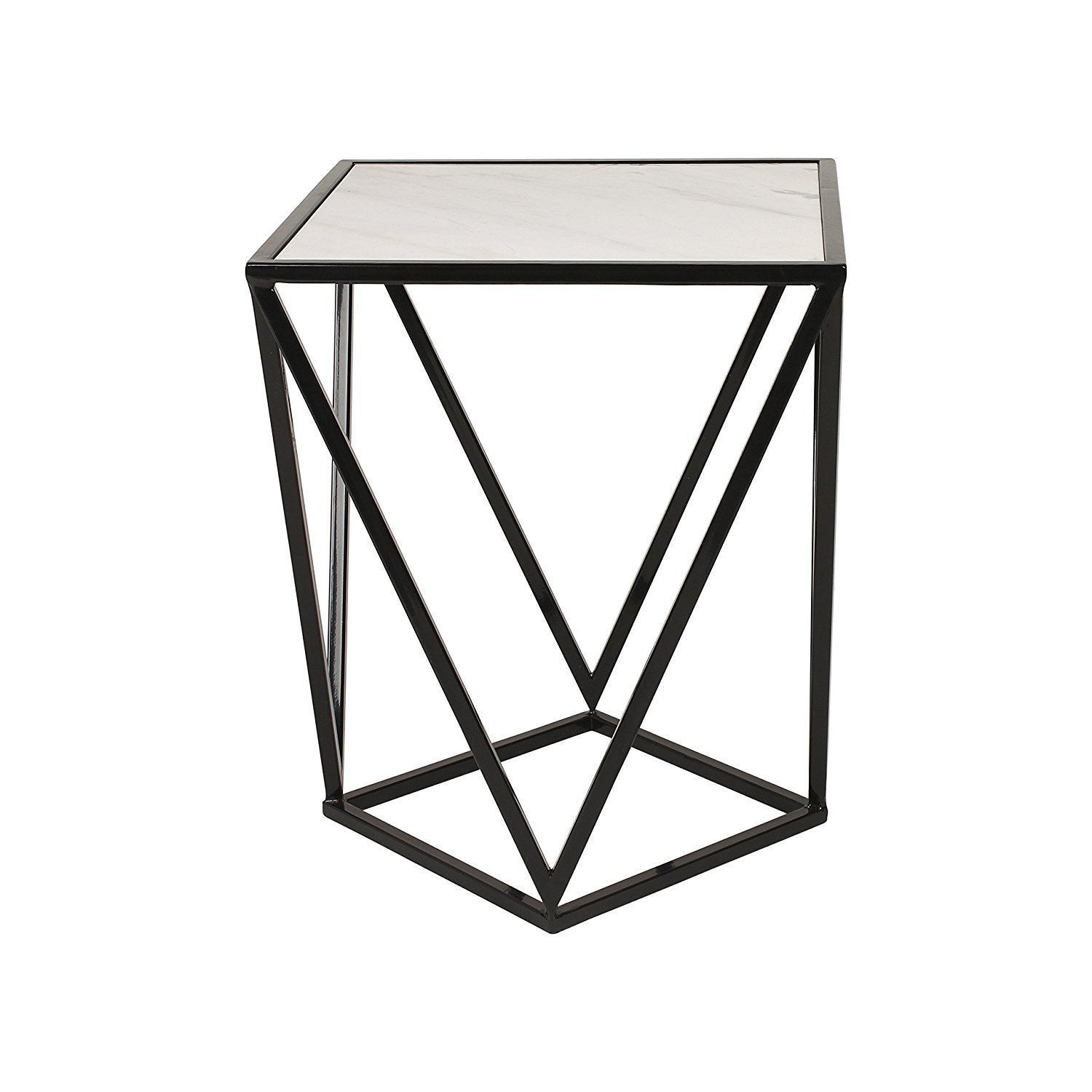 coffeetable black metal side accent table with marble top ija cement outdoor dining round pedestal wood half coffee solid laminate threshold small console storage antique room