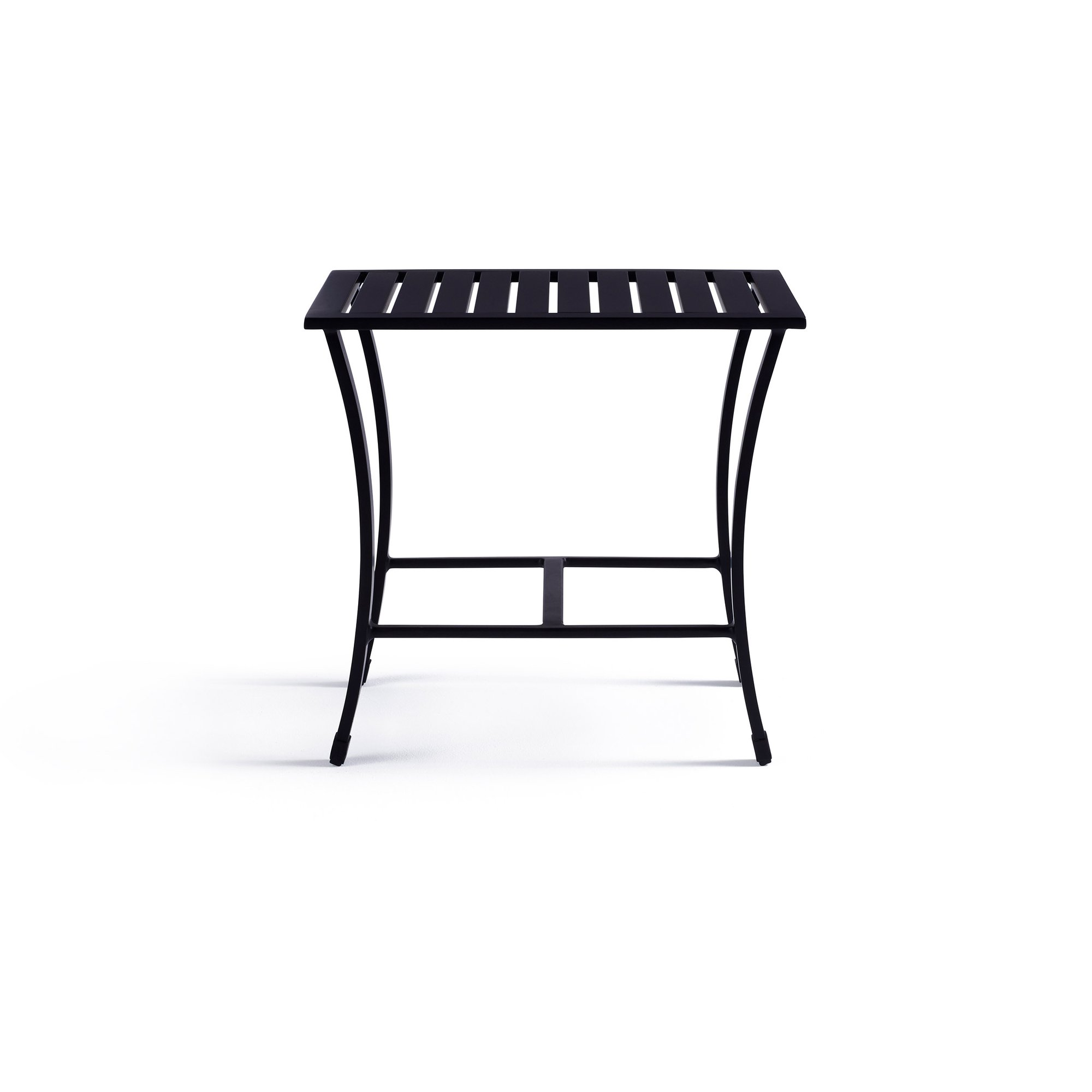 colby outdoor side table yardbird furniture white wood nightstand entryway chair lighting portland antique drop leaf value small rattan cast metal accent nate berkus bar height